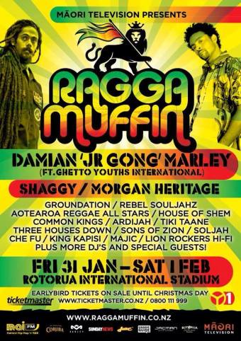 Raggamuffin Festival in NZ