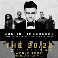 Common Kings toured with Justin Timberlake in AU & NZ during Fall 2014