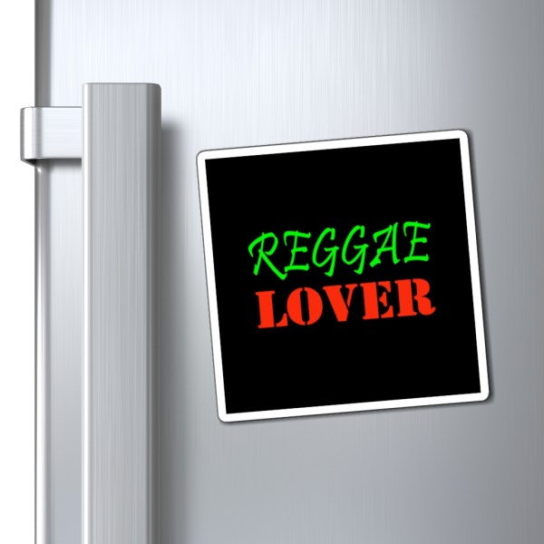 Reggae Lover Magnet on surface pic
