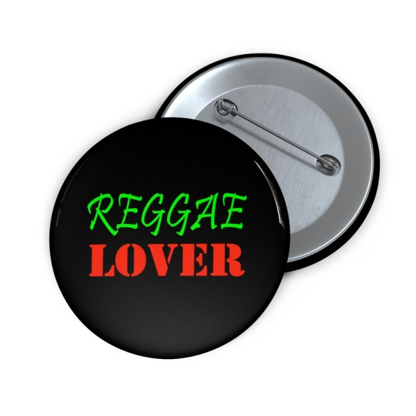 Reggae Lover button