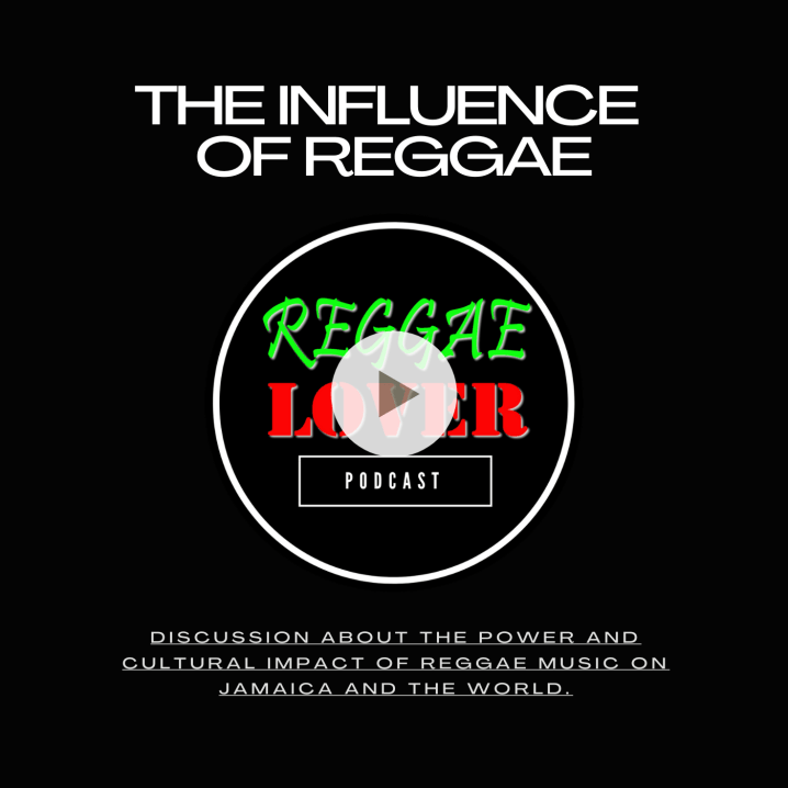 Influence of reggae   The Influence of Reggae replay raw.mp3  [00:00:00] Everywhere you are listening right now, thank you for tuning in. We're going to talk about how reggae music has influenced and impacted the world, the influence of reggae music on this episode. So we're going to talk a little bit about the, you know, the history of some foundation stuff. Right, Buzzworthy. We're going to tell you from our own lenses, from our own frame.  [00:00:25] We're going to give you the influence of reggae.  [00:00:27] I mean, we've already had this episode that was in tribute to Bob Marley in February. Right. And on the Bob Marley, we definitely touched on a number of things. Which man? It's like just more and more conversation somehow. But you can't leave out Bob Marley in a conversation about reggae, right?  [00:00:49] No, definitely not for some for a lot of people, that's where it begins.  [00:00:53] Exactly. He's one of the most influential people of our time of the 20th century. The millennium, the Marley estate is the richest, makes the most money. All right. Now, I believe it was always among the top, but, you know, topping the Jacksons and the Beatles and, you know, whoever else. Right. I'll take your word for it. Like I said, you get it from our land.  [00:01:16] So just quote me on that. And if you fact check it and it's wrong, you know, I'm human, so don't you know, I'm saying don't sue me. Were we talking about reggae music? It's the Jonatha music that came out of Jamaica in the late 60s, evolved out of the earlier genres like ska and rocksteady, and was an important form of music for Jamaica from the start. That is correct. The music had always a social impact that was drawn from life in Jamaica but also impacted.  [00:01:48] Life in Jamaica is definitely a national pride around the music, and it was a breakdown of understanding Jamaican lifestyles and Jamaican culture for the rest of the world when people were introduced to Bob Marley or whether it was to 