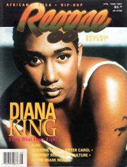 Diana King Candid Interview in V15#8 1997