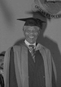Nelson Mandela Kingston July 1991