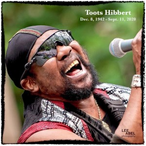 Toots RIP by Lee Abel