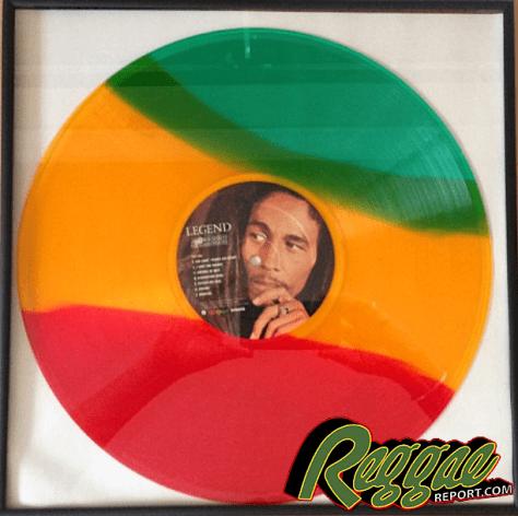 Bob Marley Vinyl w Logo