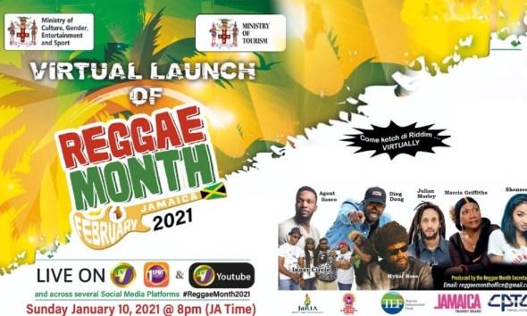 reggae month 2021 virtual