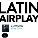 "Nicky Jam ""El Amante"" Se Coloca #1 En 'Latin Airplay' De Billboard"
