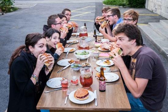 R'M à thème : Burgers végétariens