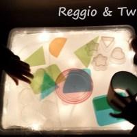 La Boite Lumineuse dans l'approche Reggio