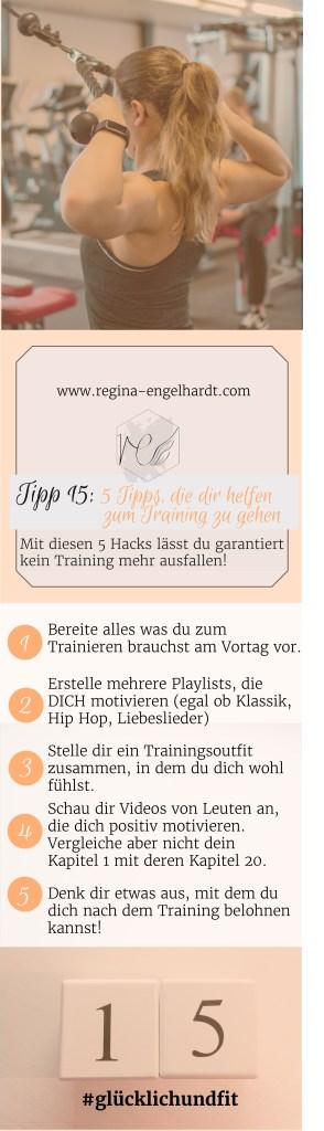 Mit diesen 5 Hacks lässt du garantiert kein Training mehr ausfallen!