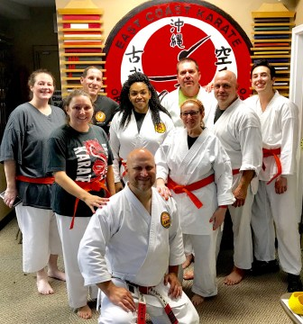 Missing a few but here are the Orange Belts!