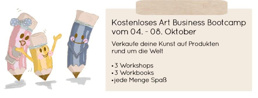 kostenloses Kunst Business Bootcamp