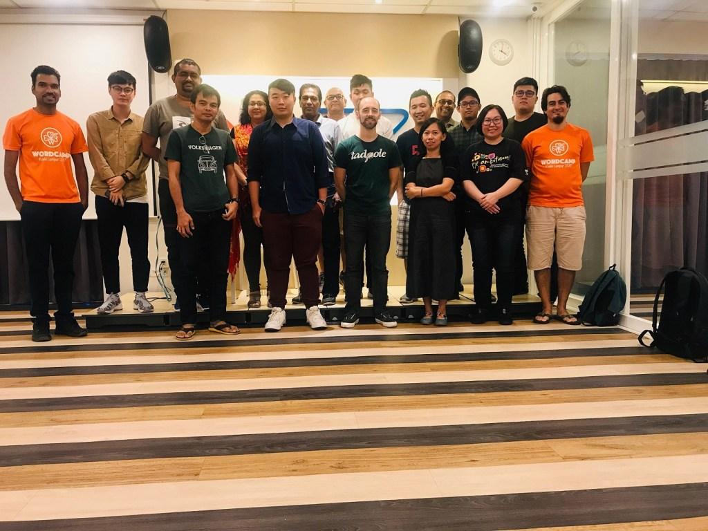 Volunteer Meetup for WordCamp KL 2018