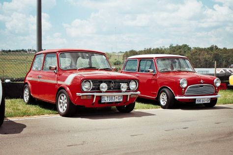 Leyland Mini 1275E and Morris Mini 850