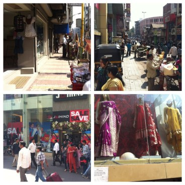 The hustle and bustle of Laxmi Road Pune