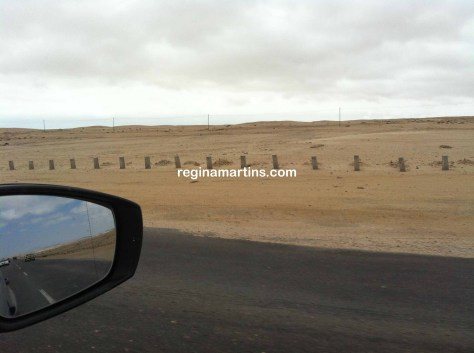 The changing scenery on the road from Windhoek to to Swakopmund
