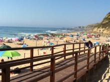 The surf side of Lisandro Beach