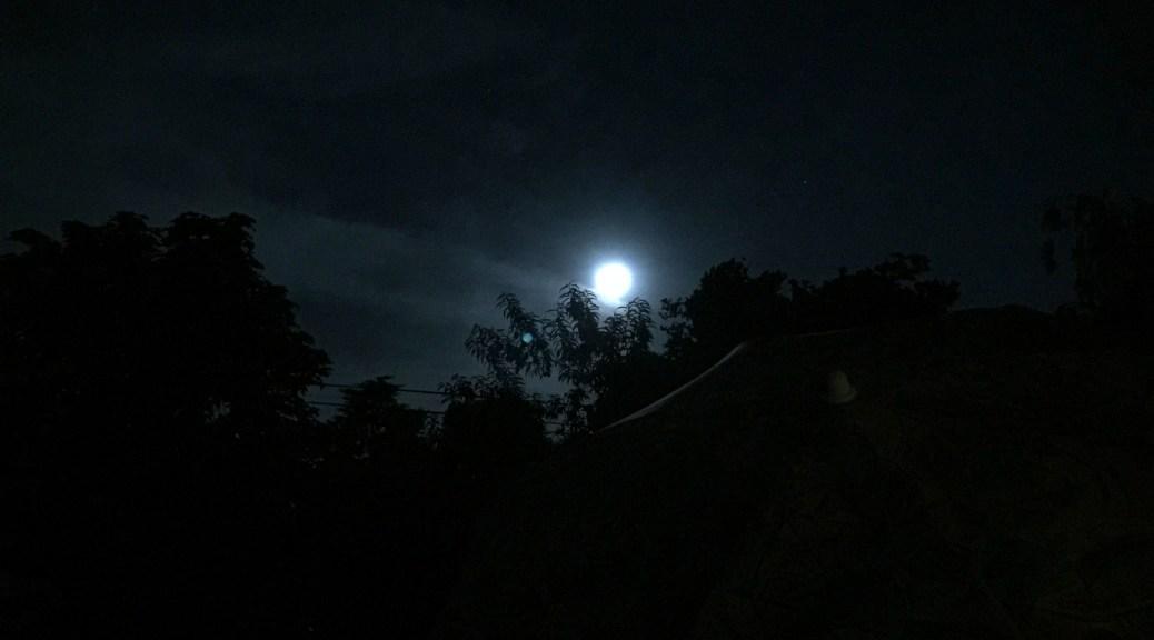 Moonlight 5th January 2015 at 20h48