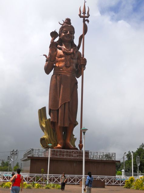 Second highest statue of Lord Shiva on Mauritius island