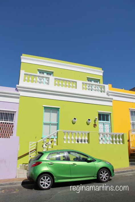 Bo-Kaap-Matching Car Matching House