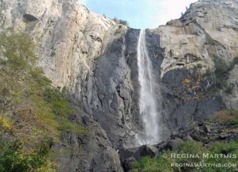 Bridal Veil Falls in Yosemite by reginamartins.com