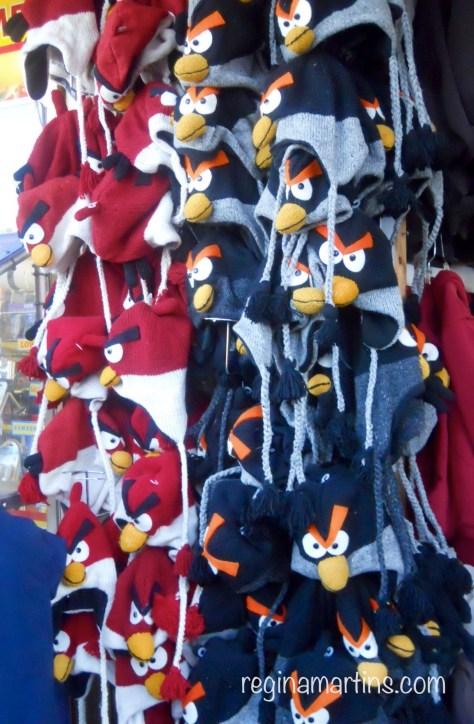 Angry Birds Hats © Regina Martins
