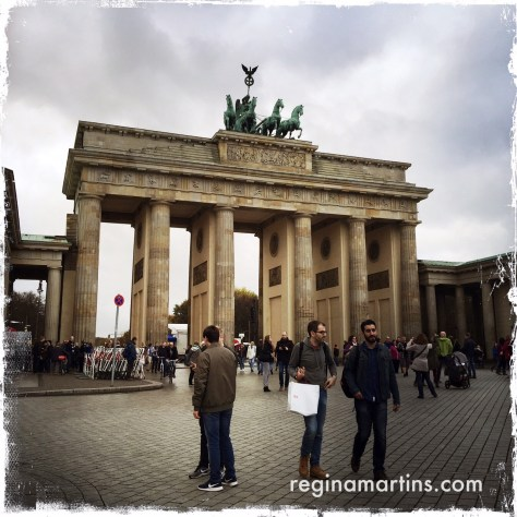 Brandenburg Gate ©2015 Regina Martins