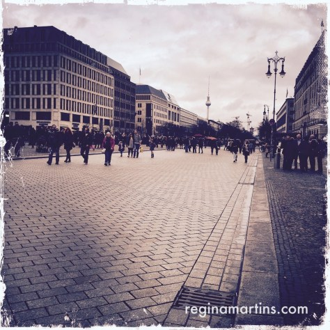 Brandenburg Gate, Berlin ©2015 Regina Martins