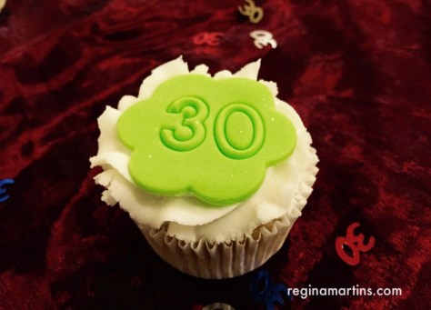 A cupcake for Alberton Toastmasters Club's 30th birthday ©2016 Regina Martins