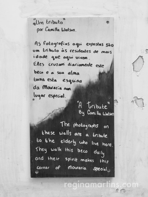 In Camilla Watson's words... ©2016 Regina Martins