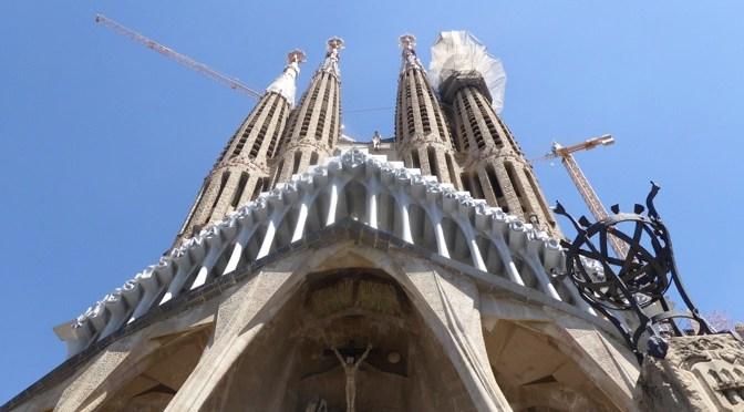 Photos Of The Outside Of The Sagrada Familia