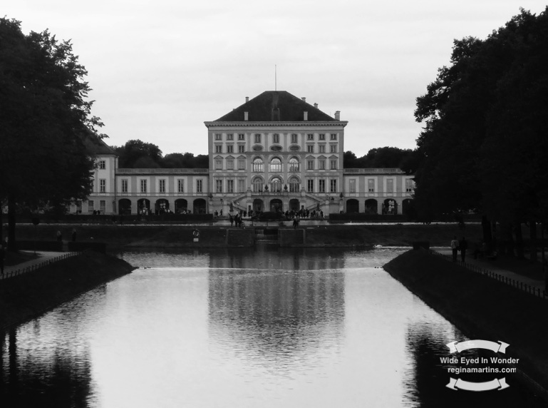 Nymphenburg Palace, in the Baroque architectural style, was the summer place of the rulers of Bavaria ©2016 Regina Martins