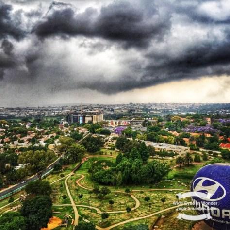 Highveld thunderstorm  ©2016 Regina Martins
