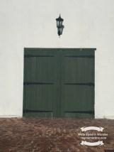 What's behind the green door? ©2017 Regina Martins