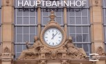 Clock at Frankfurt Am Main Hauptbanhof ©2017 Regina Martins