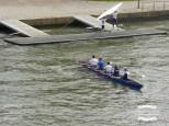 Rowing on the Main river in Frankfurt ©2017 Regina Martins
