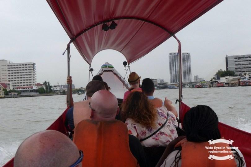 A to Z challenge Bangkok canal tour