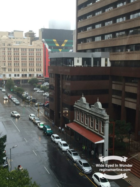 A to Z challenge Johannesburg