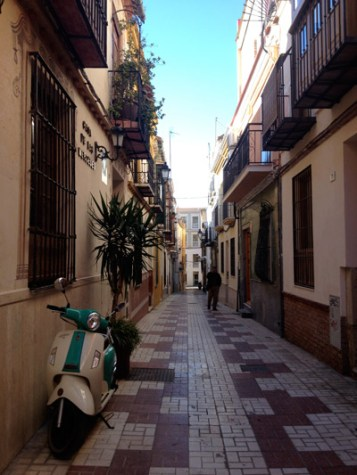 Dans les rues de Malaga ©Régine Cavallaro