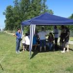 Party am Canal du Rhône au Rhin