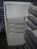 gespendeter Kühlschrank mit Gefrierfach