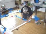 Zuschnitt & Verklebung Fenster