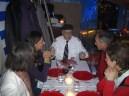 Gäste Candlelight Dinner 3 im Gespräch