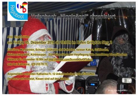 Einladung Clausabend 2014