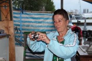Katharina beim fotografieren