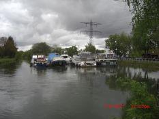 Canal de Huningue Bootshafen Kembs