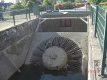 VLH Kaplan Turbine, Minikraftwerk an Stelle Untertor Schleuse Rosenau