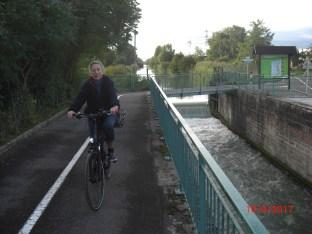 Canal de Huningue, ehemalige 4. Schleuse. erstellt 1828.