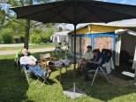Campingpark Lug ins Land, Vogesenblick. Römerstrasse Bad Bellingen-Bamlach,