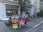 Lokal Bar mit Aussenbestuhlung